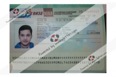 Pakistani student in Preparatory Course came at 24 February -Ribttes Student
