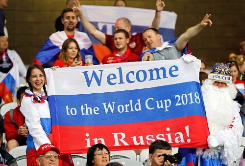 FIFA WORLD CUP 2018 FOOTBALL MATCHES IN ST. PETERSBURG RUSSIA