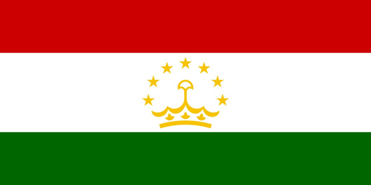 National Flag of Tajikistan