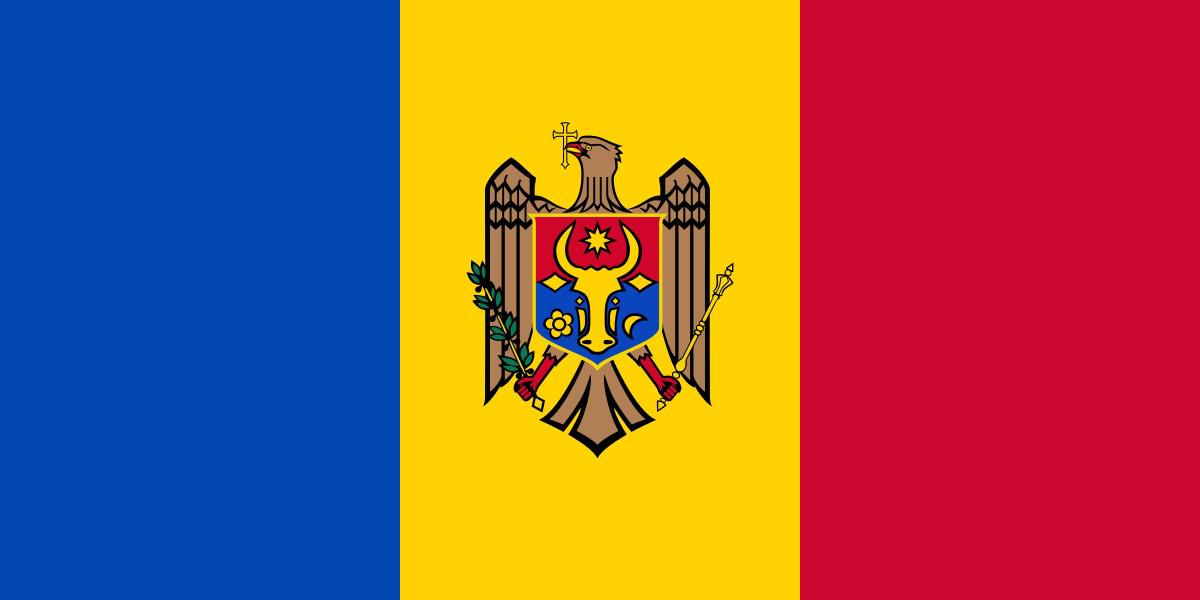 National Flag of Moldova