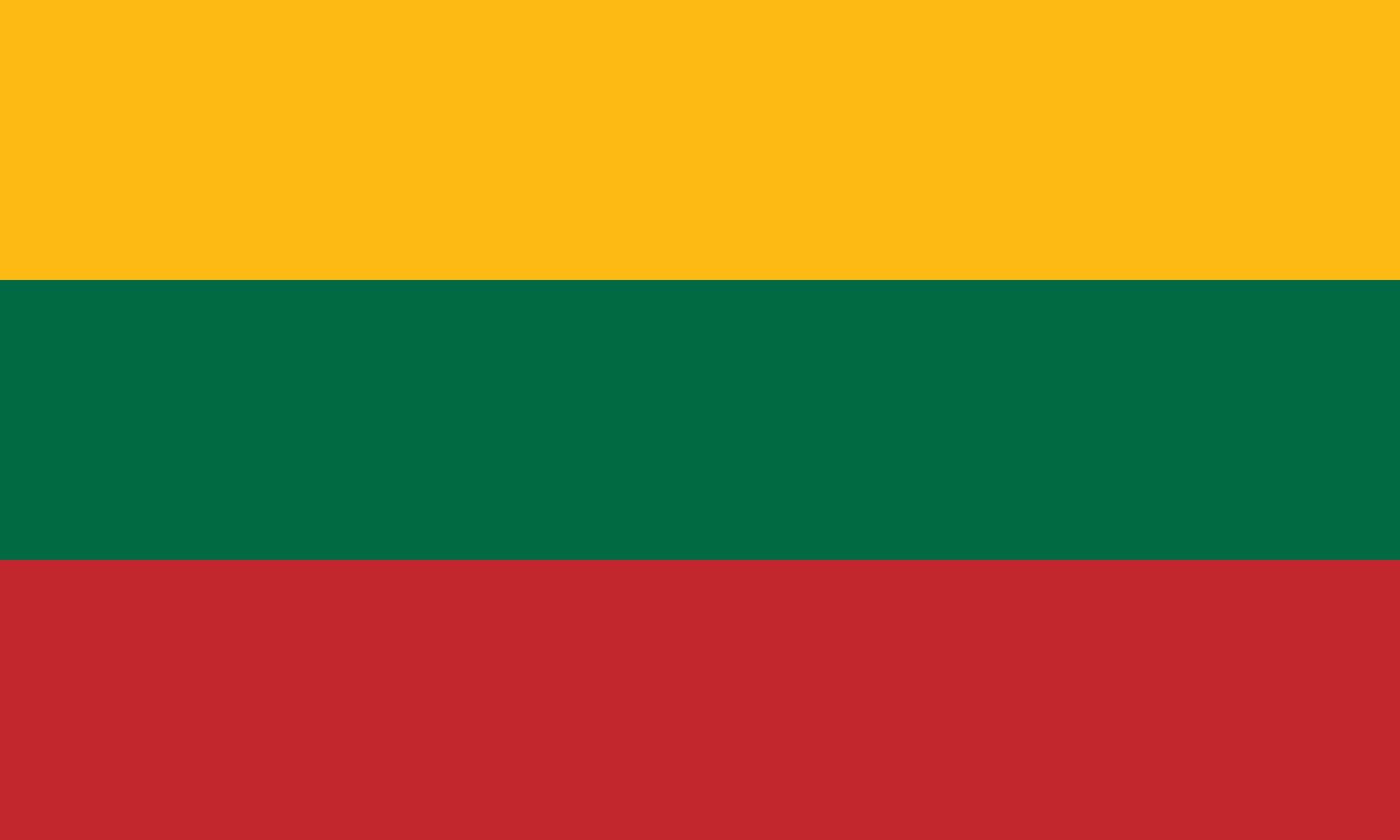 National Flag of Lithuania